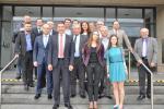 Parlamentsabgeordnete, Regionalpolitiker und Beamte aus Ministerien und Regionalverwaltungen der Ukraine besuchen das KIKZ